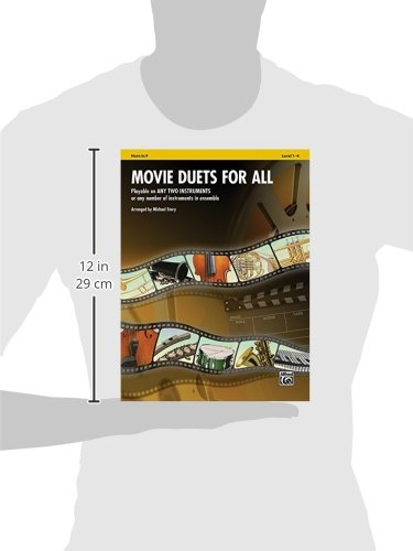 Movie Duets for All: Horn in F, Level 1-4 (Instrumental Ensembles for All)