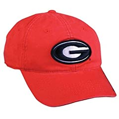 Buy Georgia Bulldogs Outdoor Cap, Adjustable Slouch Hat(One Size Fits Most) by Outdoor Cap