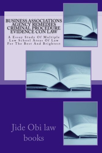multiple types of laws essay Tom w bell's teaching materials types and measures of contract damages contract law ii final exam, spring 1999 multiple choice practices quizzes and answer.