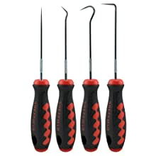 Sheffield Tools 58780 Hook And Pick Set, 4 Piece