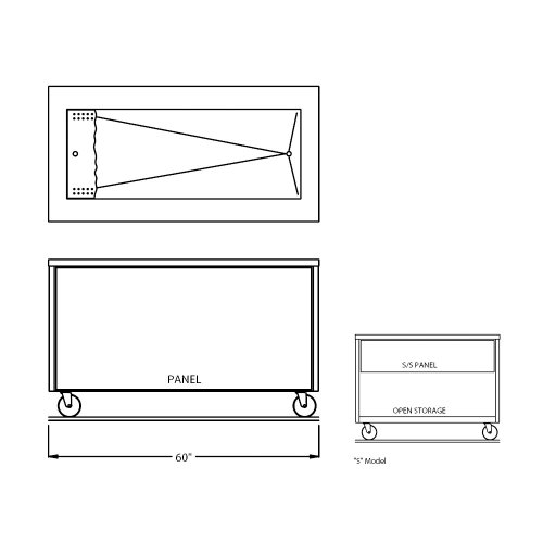 Counter Depth Refrigerator Dimensions front-255123