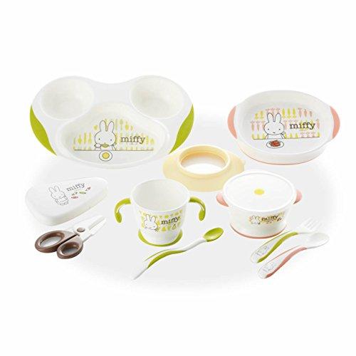 リッチェル TLI(トライ)シリーズ ミッフィーベビー食器セット