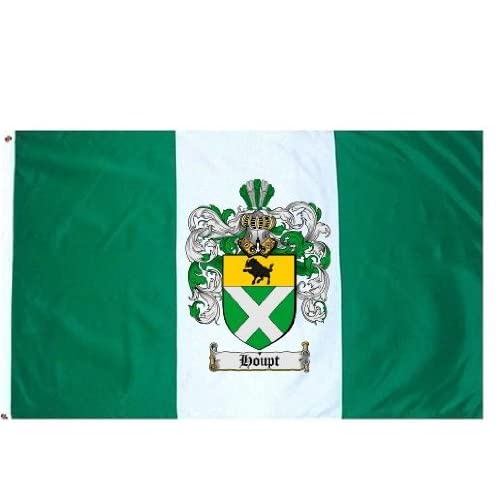 Family Crest / Coat of Arms Flag. Large 3 ft. x 5 ft. polyester flags