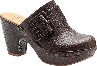 Kork-Ease Women's Madison K2221 Platform Shoes,Mahogany Croc,6 M US