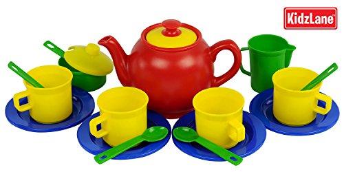 Toy Tea Sets For Boys : Tea set for girls boys piece pretend play