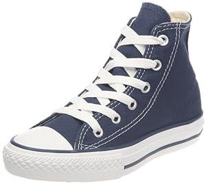 Converse Ctas Core Hi 015860-34-10 - Zapatillas de tela para niños, color azul, talla 35