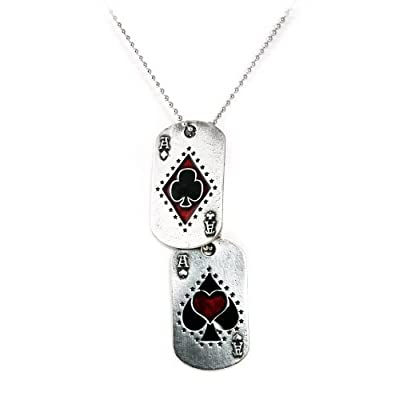 Ace Pack Dog Tag Alchemy Gothic Necklace