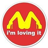 I'M Loving It パロディ ステッカー シール
