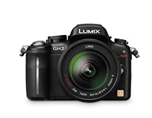 Panasonic Lumix DMC-GH2 16.05 MP Live MOS Mirrorless Digital Camera with 3-inch Free-Angle Touch Screen LCD and 14-140mm HD Hybrid Lens (Black)