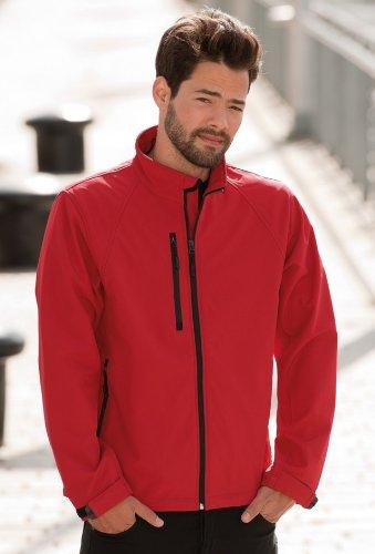 Jerzees Colours Mens Soft Shell Jacket L Titanium