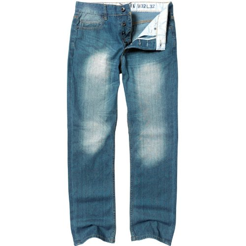 French Connection Mens Denim Jeans Heavy Scape Wash