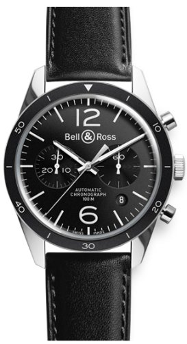 NEW BELL & ROSS VINTAGE MENS WATCH BR-126-SPORT