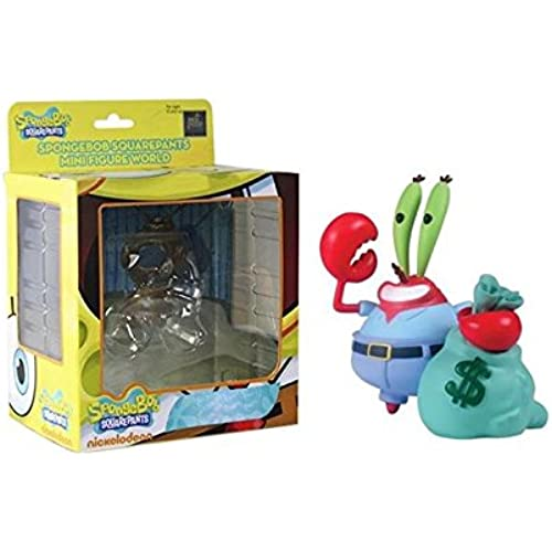 Spongebob Squarepants Mini Figure World Wave 04 - Mr. Krabs Spongebob Squarepants Figures [병행수입품]-