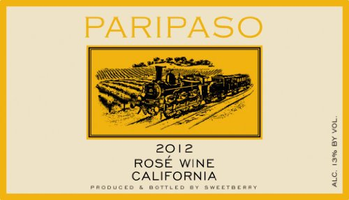 2012 Sweetberry Wines Paripaso Rose Paso Robles 750 Ml