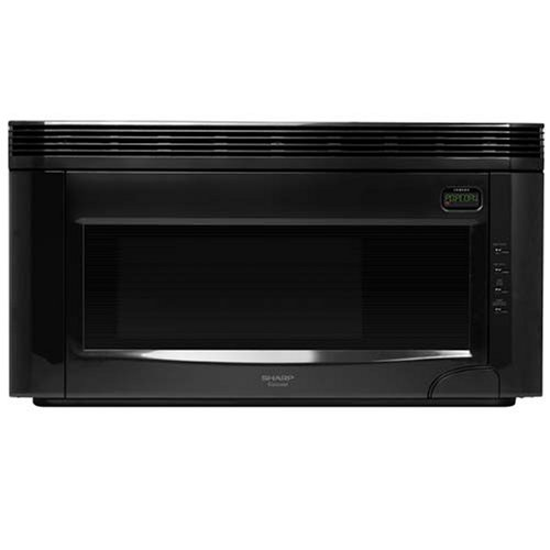 Can Countertop Microwave Be Used Over The Range : Sharp R-1520LK Over The Range Microwave Countertop Microwave Oven
