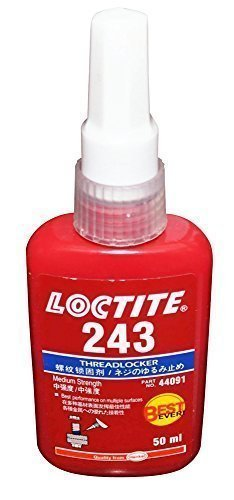 RESISTENZA MEDIA DI LOCTITE 243 - FRENAFILETTI A MEDIA - TUTTO METALLO ADESIVO - COLLA 50 ML