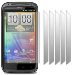 KC-Electronics HTC Sensation 6 Pack LCD Screen Protector Guards