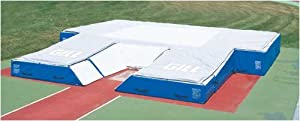 "Amazon.com: Scholastic II Track and Field Pole Vault Pit (21'6""x23'6""x28"") w/Weather Cover: Sports & Outdoors"