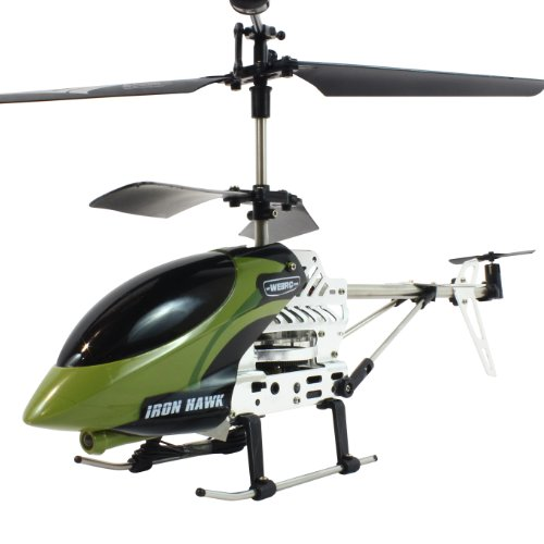 My Funky Planet My Web RC - Iron Hawk Helicopter, Green
