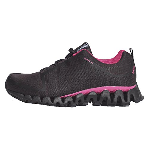 Reebok Womens Zigwild TR ll Running Shoe (7.5, Coal/Solar Pink/Black) (Zigtech Shoes compare prices)