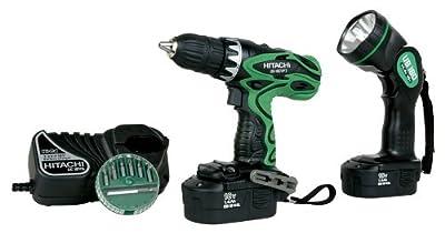Hitachi 18-Volt Ni-Cad 1/2-Inch Cordless Drill/Driver Kit