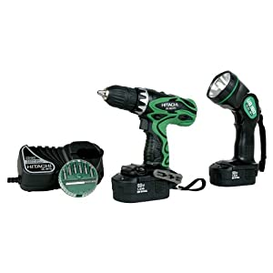 Hitachi DS18DVF3 18v Cordless Drill