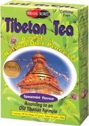 Tibetan Tea Spearmint Flavor 90 Bags