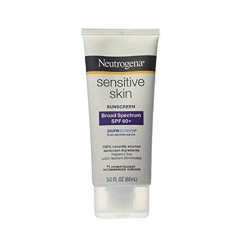Neutrogena Sensitive Skin Sunscreen Lotion, SPF 60, 3 Ounce