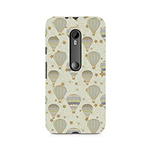 Ebby Stars and Balloons Premium Printed Case For Moto X Play