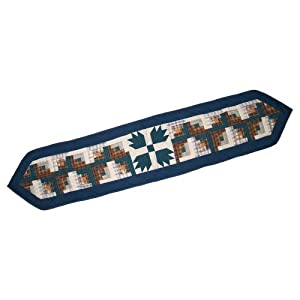 Patch Magic 72-Inch by 16-Inch Bear Creek Table Runner