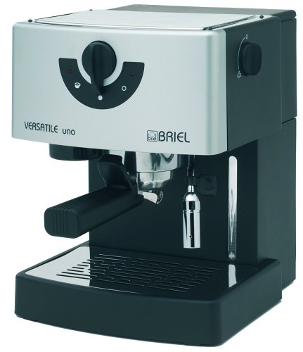 Briel ES37SFB Versatile Uno Pump Espresso Machine, Black
