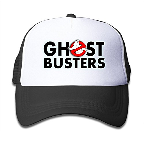 Teenagers Ghostbusters Logo Cap with Trucker Mesh Back - Size 48 to 58cm
