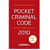 Pocket Criminal Code 2010by Gary P. Rodrigues