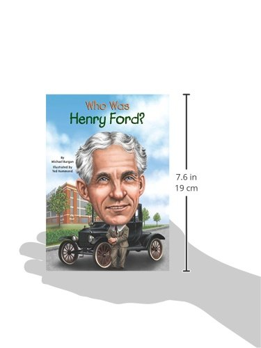 Who Was Henry Ford? (Who Was...? (Paperback))
