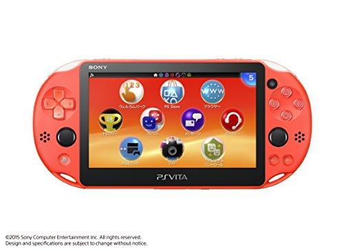 PlayStation Vita Wi-Fiモデル ネオン・オレンジ(PCH-2000ZA24)