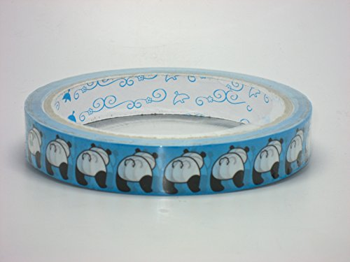 Adhesive Tape Cute Back Shot Panda