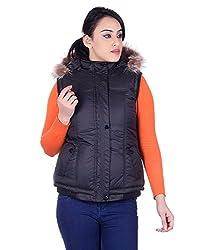 Montreal Women Jacket(Black,Large)