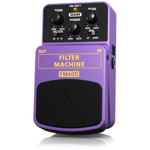 Behringer Fm600 Filter Machine Ultimate Filter Modeling Effects Pedal