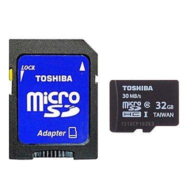 Electronic-DDL TOSHIBA Micro SDXC Card w/ SD Card Adapter (32GB / Class10)