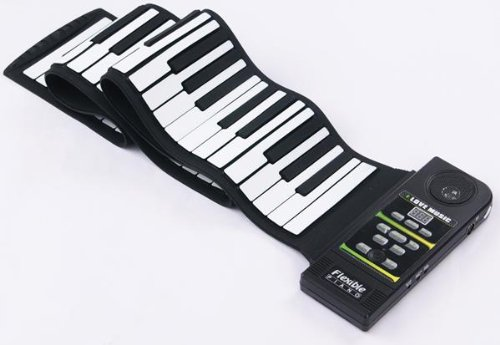 Electronic Piano 88 Key Roll Up Full Size W/ Foot Pedal