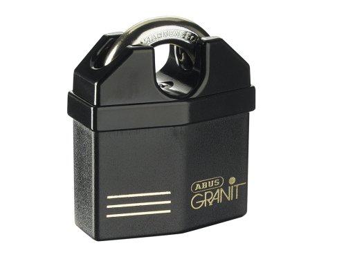 Abus - 37/60 60mm Granit Vorhängeschloss Schäkel Carded - ABU3760CSC