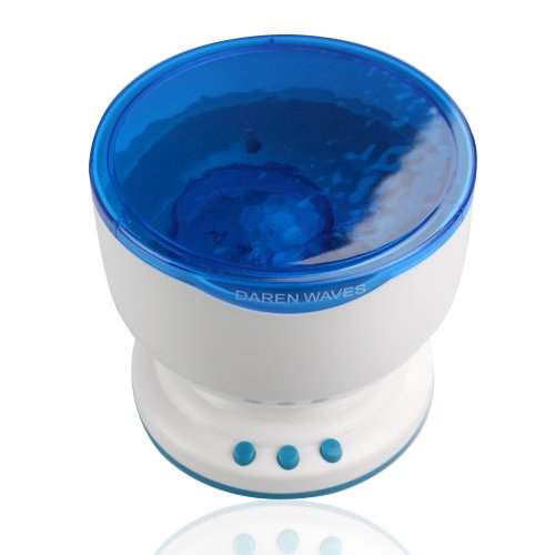 FLY-SHOP-Talento-di-Onde-Oceano-Proiettore-di-Luce-Notte-Atmosfera-Romantico-Effetto-di-Onde-Oceano-Mini-MP3-Altoparlante