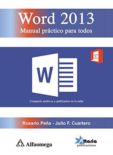 WORD 2013 - Manual práctico para todos (Spanish Edition)