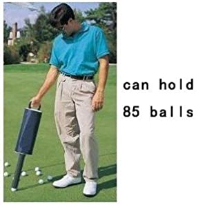 A99 Golf Retriever Shag Bag Ball Pick up Can Holds 85 Golf Balls Zip Ball Bag by A99 Golf