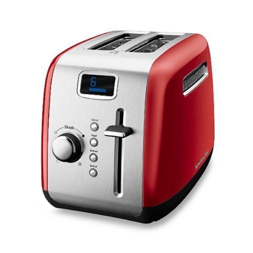 Red Kitchenaid® 2-Slice High-Lift Lever Toaster