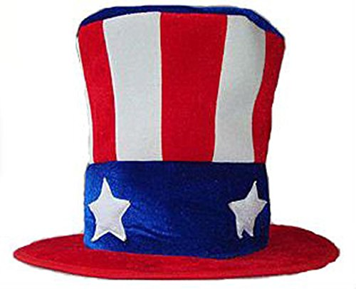 Uncle Sam Top Hat, USA Hat, Patriotic Hat, 4th of July Hat (Adult or Kids)