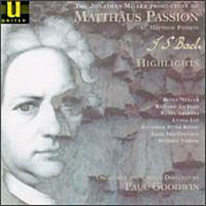 St. Matthew Passion-Hlts by J.S. Bach