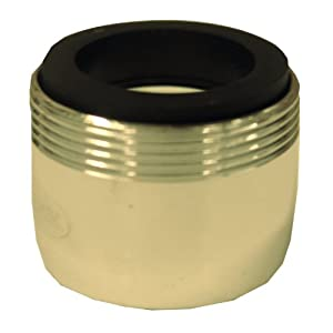 LASCO 08-2523 0.35-GPM, Dual Thread, Pressure Compensated Faucet Aerator