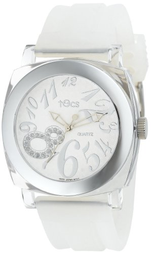 Tocs Women'S 40113 Analog Round Frosty Ice Watch