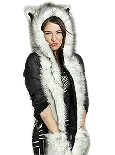lathpin-husky-hat-womens-ladies-unique-animal-design-hooded-scarf